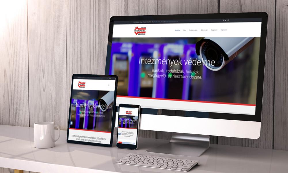 mobilbarát weblap